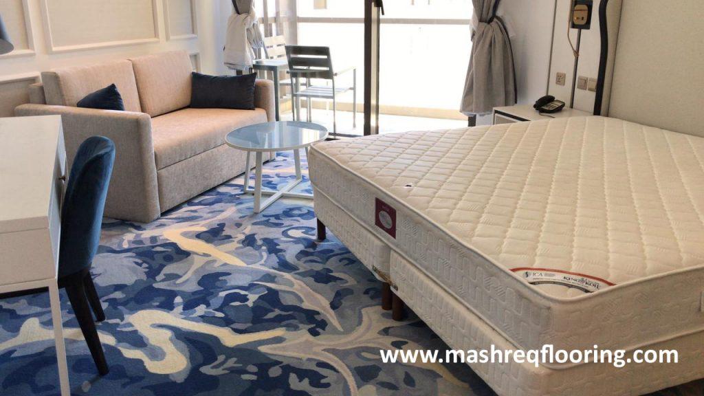 Axminster carpet in sofitel hotel jbr dubai